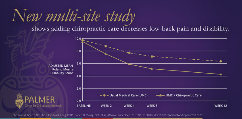 Effect of Usual Medical Care Plus Chiropractic Care vs Usual Medical Care Alone on Pain and Disability Among US Service Members With Low Back Pain