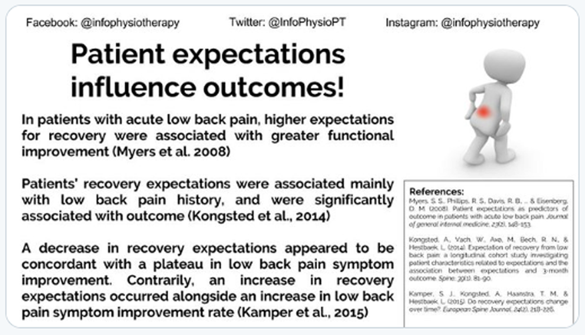 Patient Expectations as Predictors of Outcome in Patients with Acute Low Back Pain