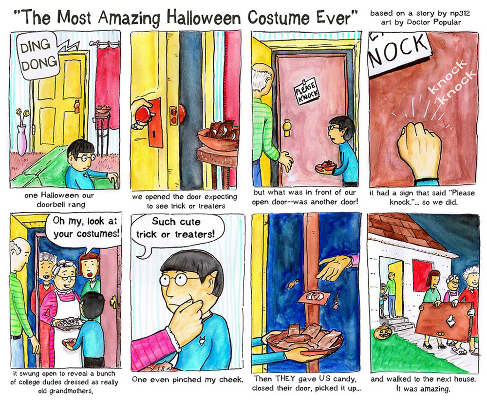 The Amazing Halloween Costume (2019)
